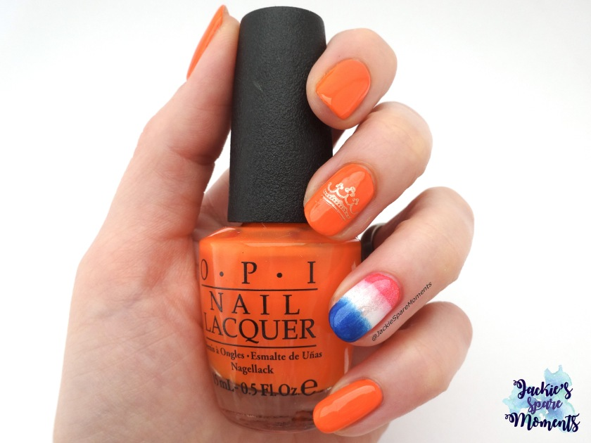 King's Day manicure