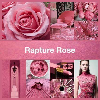Inspirational collage for Rapture Rose by TheNailPolishHoarder