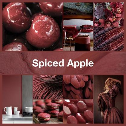 Inspirational collage Spiced Apple by TheNailPolishHoarder