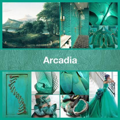 Inspirational collage Arcadia by @thenailpolishhoarder