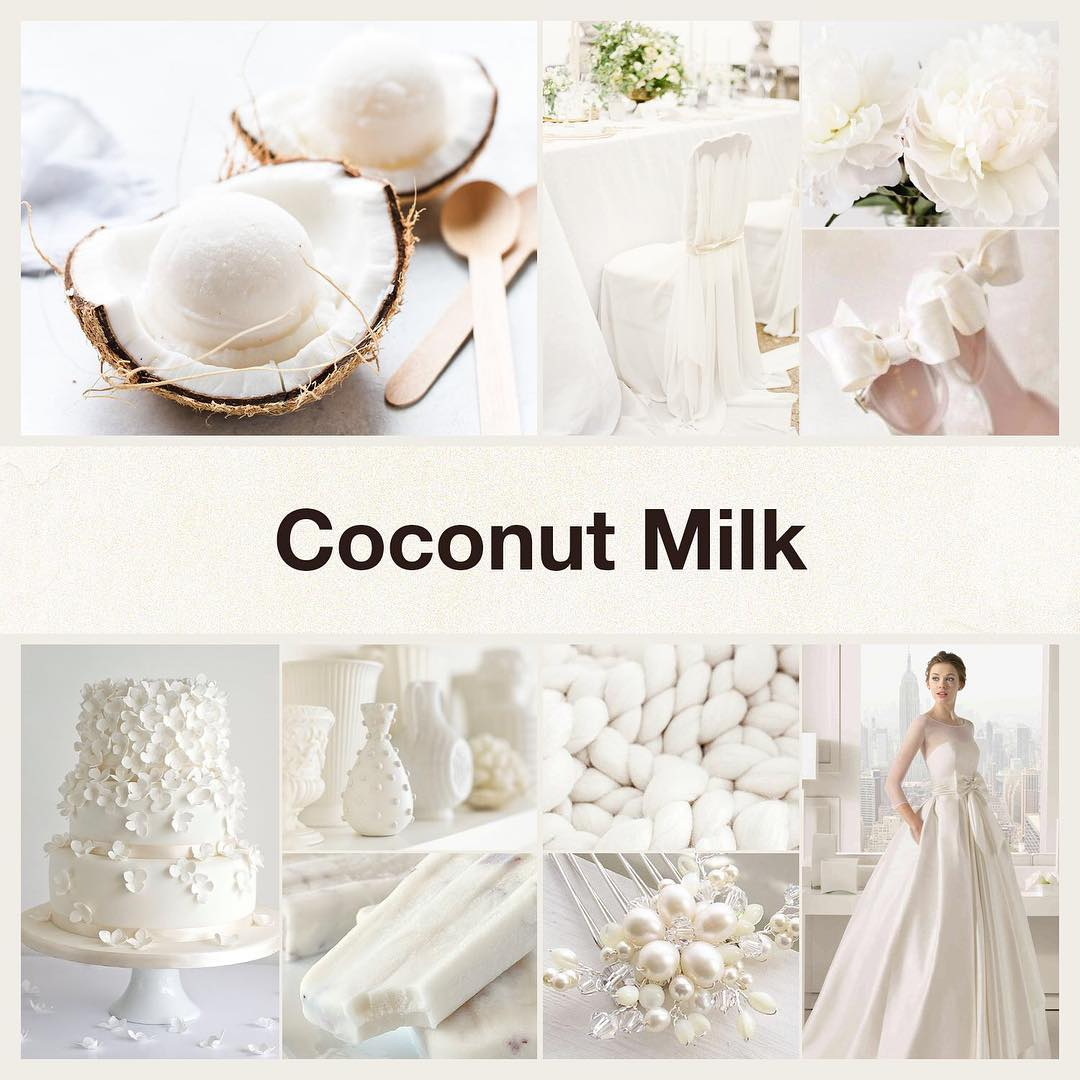 Inspirational collage coconut milk by @thenailpolishhoarder