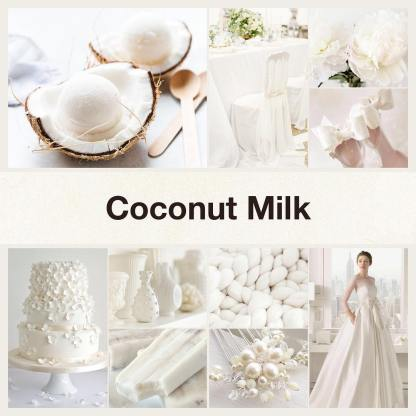 Inspirational collage coconut milk by @thenailpolishhoarder
