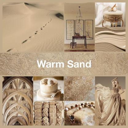 Inspirational collage Warm Sand by @thenailpolishhoarder
