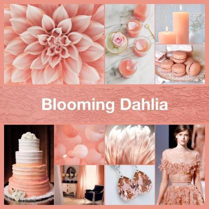 Inspirational collage Blooming Dahlia by TheNailPolishHoarder