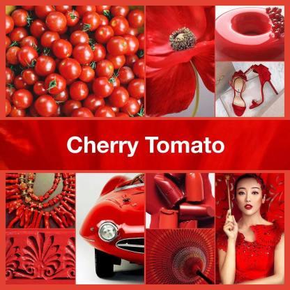 Inspirational collage Cherry Tomato by TheNailPolishHoarder