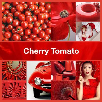 Inspirational collage Cherry Tomato by TheNailPolishHoarder