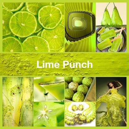 Inspirational collage Lime Punch by TheNailPolishHoarder