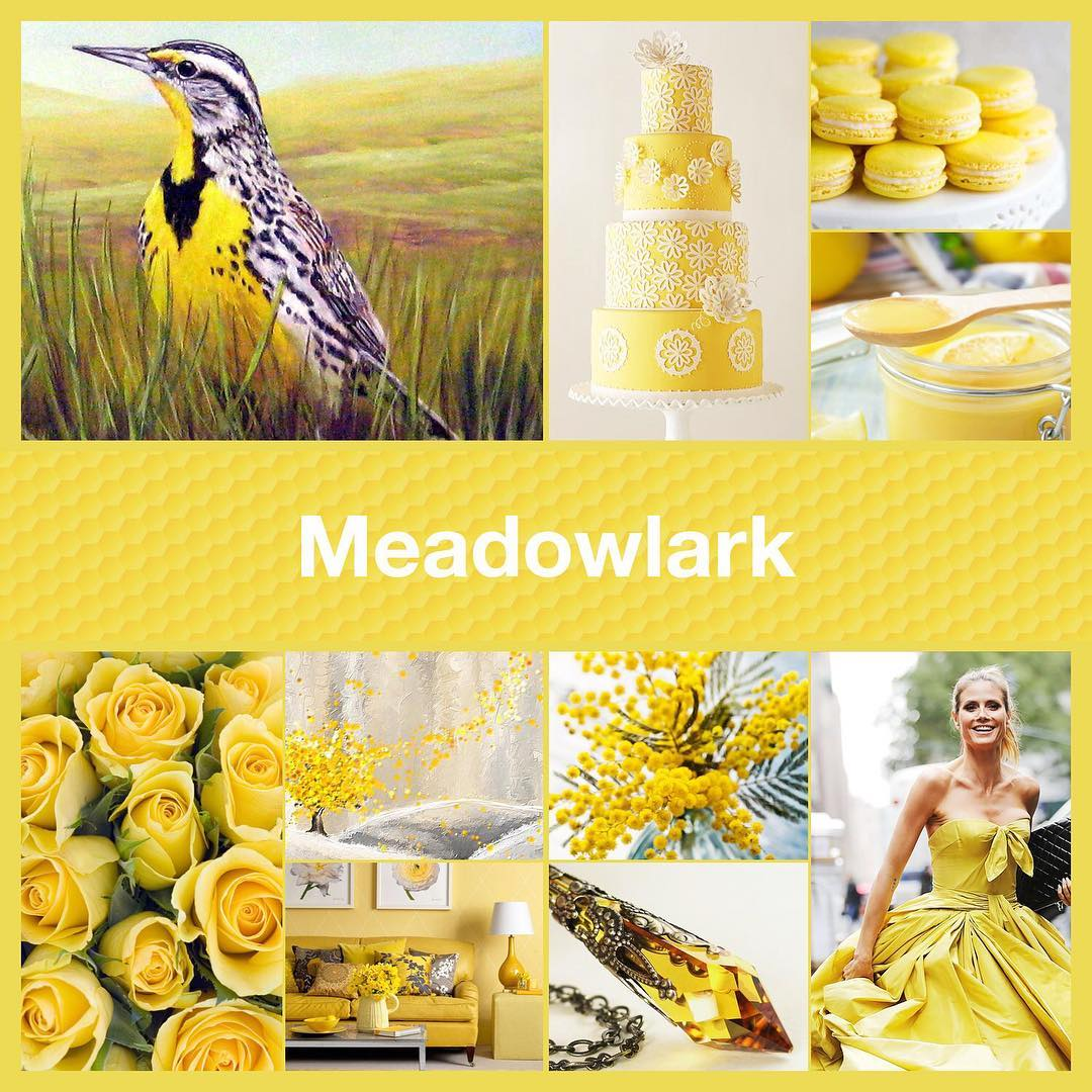 Inspirational collage Meadowlark by TheNailPolishHoarder