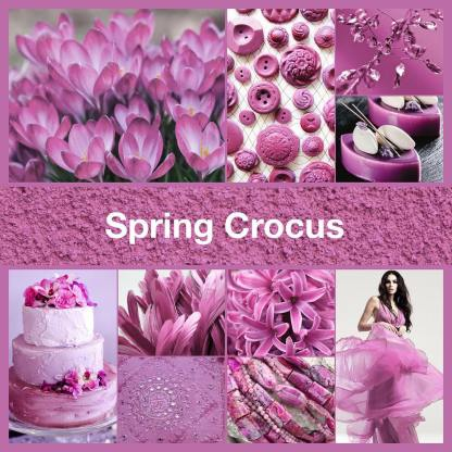 Inspirational collage Spring Crocus by TheNailPolishHoarder