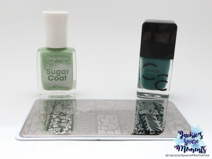 Sally Hansen Sugar Coat 600 Sour Apple, Catrice ICONails gel lacquer 13 Mermaday Mayday, BornPretty BP-L047