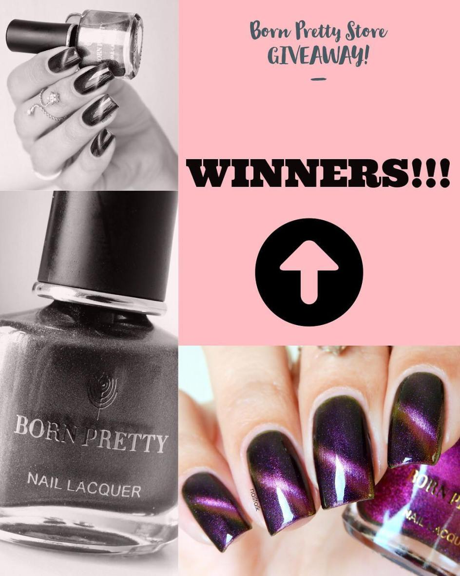 Nailtalk with BornPretty giveaway winners announcement