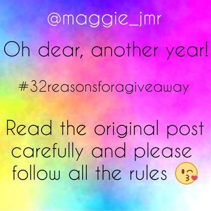@maggy_jmr birthday giveaway