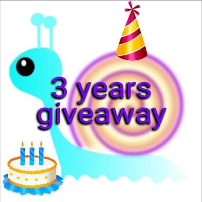 Snail polishes 3 years giveaway