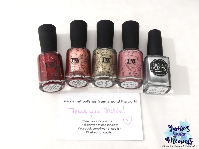 Snail polishes three years giveaway, the prize!