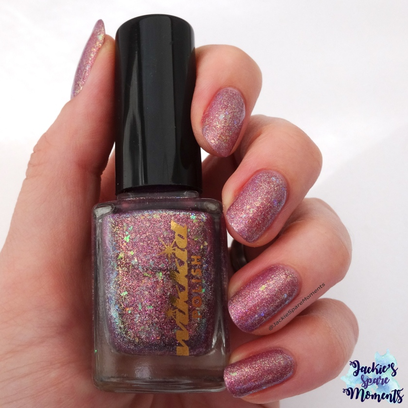 Wikkid polish I'm a magpie for pretties (indirect light)