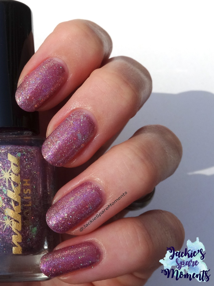 Wikkid polish I'm a magpie for pretties (direct sunlight)