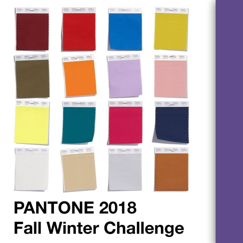 Colours of the Pantone 2018 Fall Winter Challenge by @thenailpolishhoarder