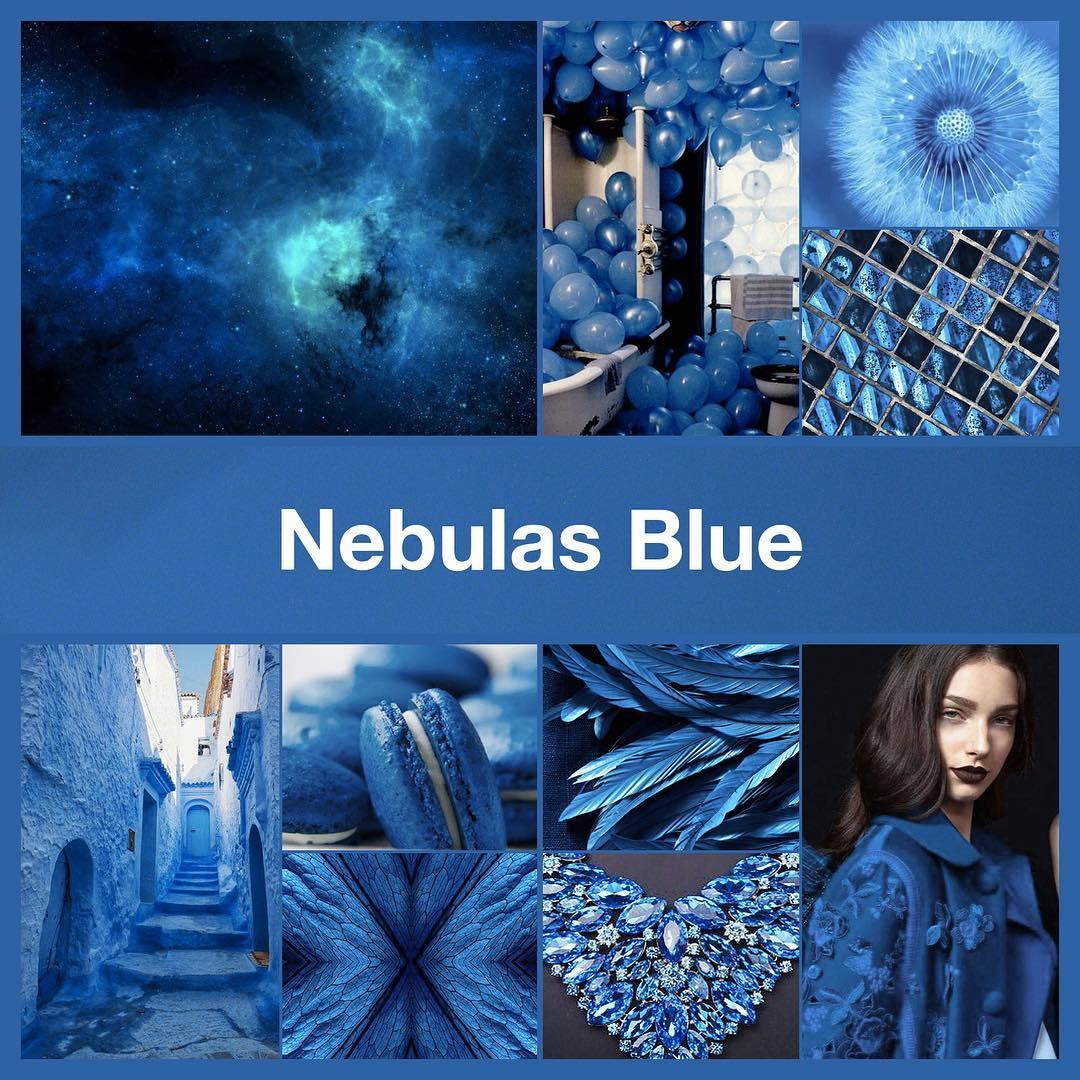 Inspirational collage Nebulas Blue by @TheNailPolishHoarder