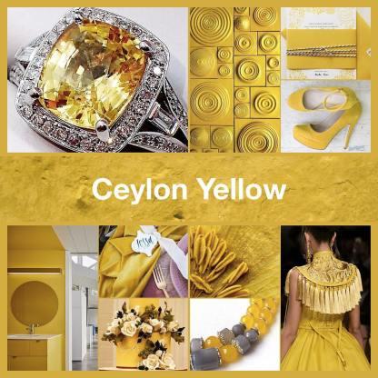 Inspirational collage Ceylon Yellow by @TheNailPolishHoarder