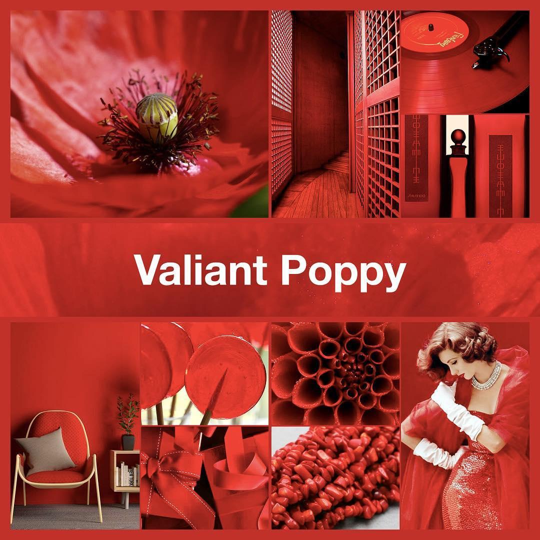 Inspirational collage Valiant Poppy by @TheNailPolishHoarder