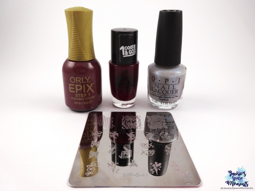 Orly Epix Hillside Hideout, Essence colour boost 09 instant passion, OPI Give me the moon