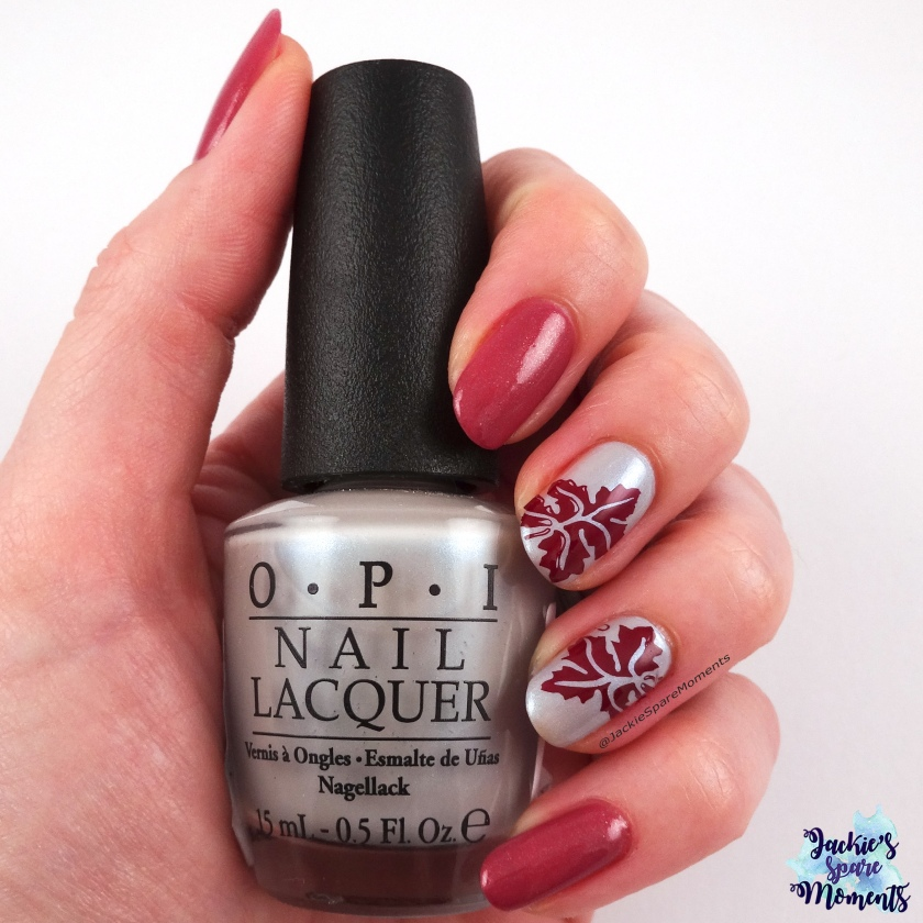 Autumn / fall manicure with OPI Give me the moon!