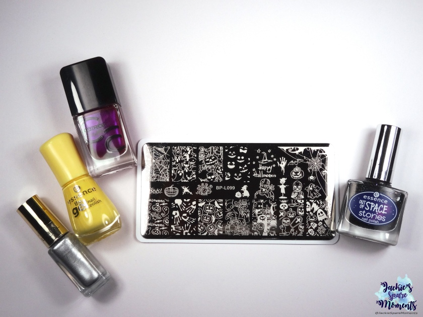 Materials used: essence out of space stories 07 1000 light years away, BP-L099, L'Oreal color riche 819 Sublime platine, essence the gel nail polish 38 love is in the air, catrice ICONails 56 purple is the best policy
