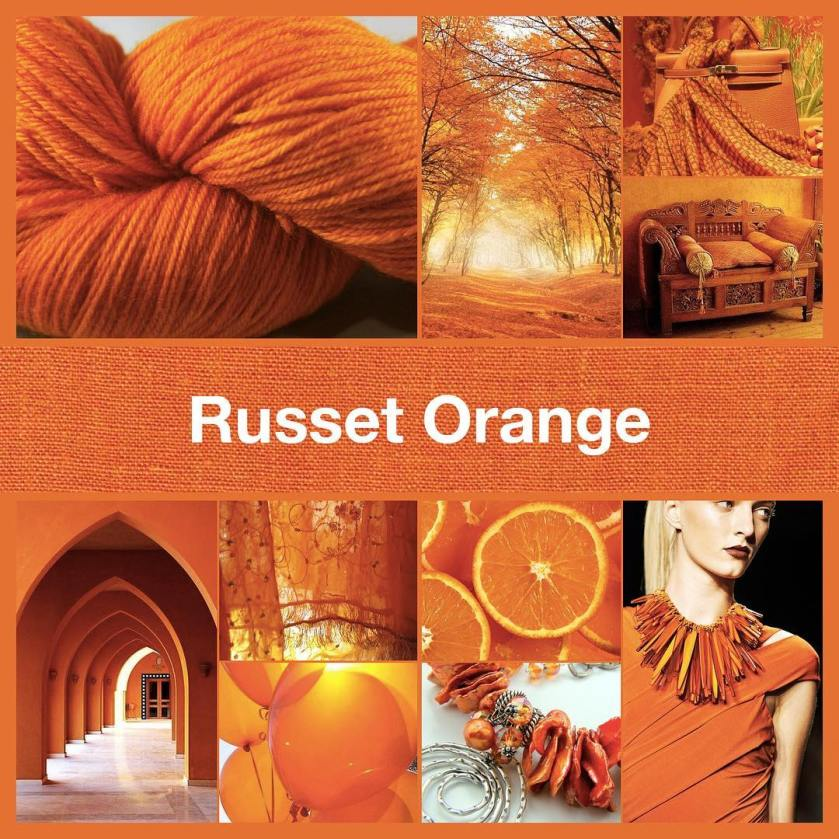 Inspirational collage Russet Orange by TheNailPolishHoarder