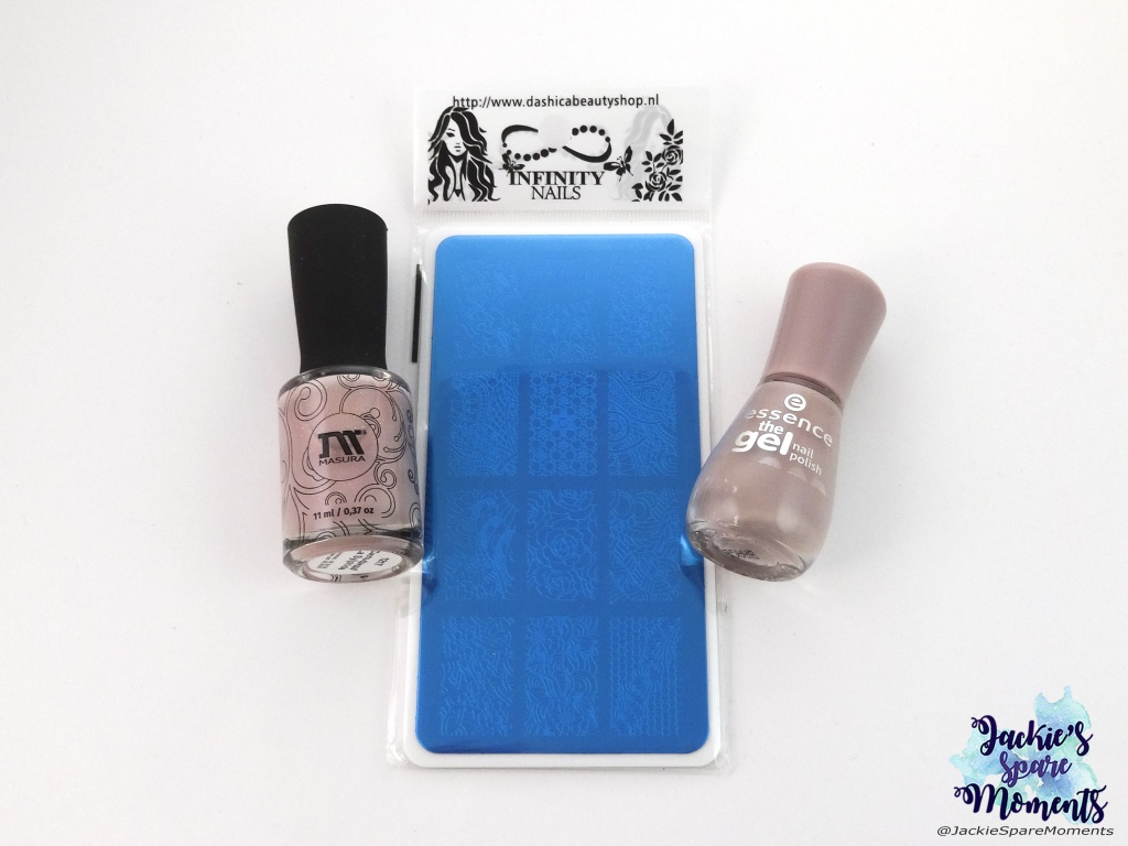Masura 1217 La Sylphide, Dashica Infinity Nails 174, essence 99 tip top taupe