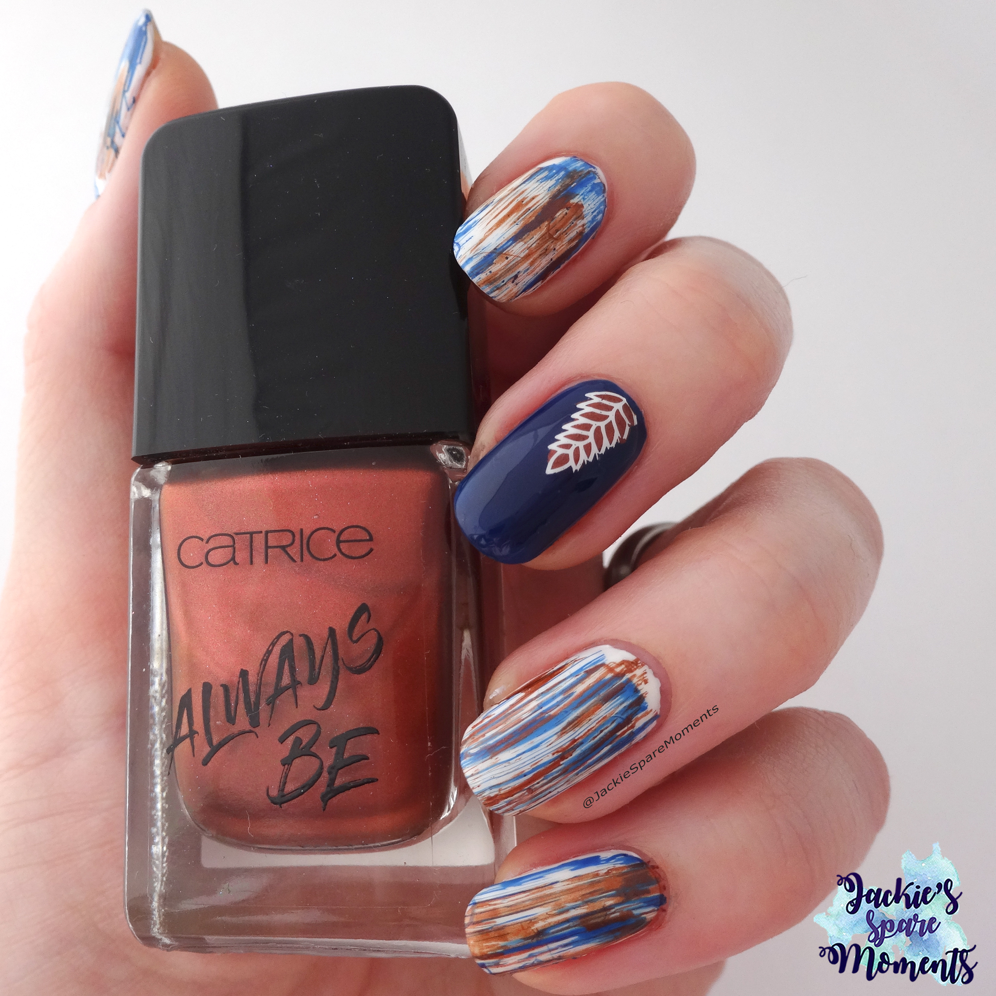 Abstract mani with Catrice Good Nails Only