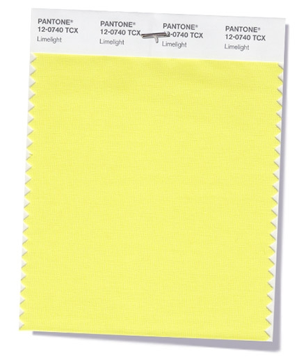 Pantone Limelight