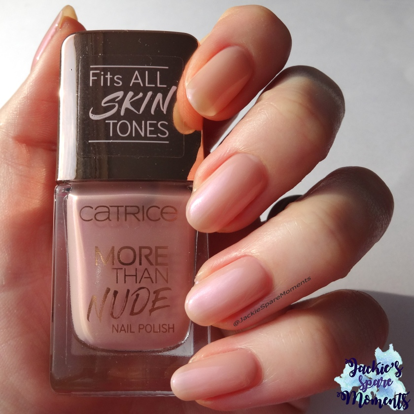 Catrice More than Nude nail polish 05 Rosey-o & Sparklet