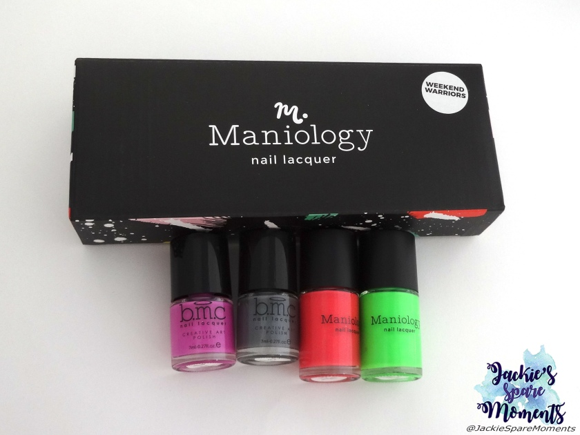 My Maniology Mystery Box, 4 stamping polishes