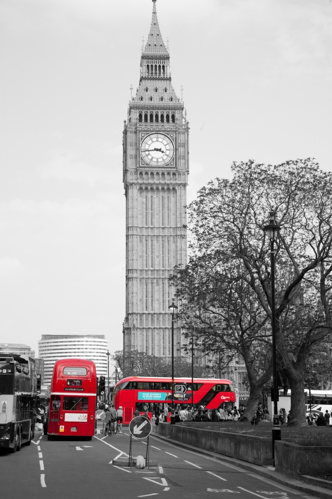 Big Ben, picture taken by Husband during our city trip