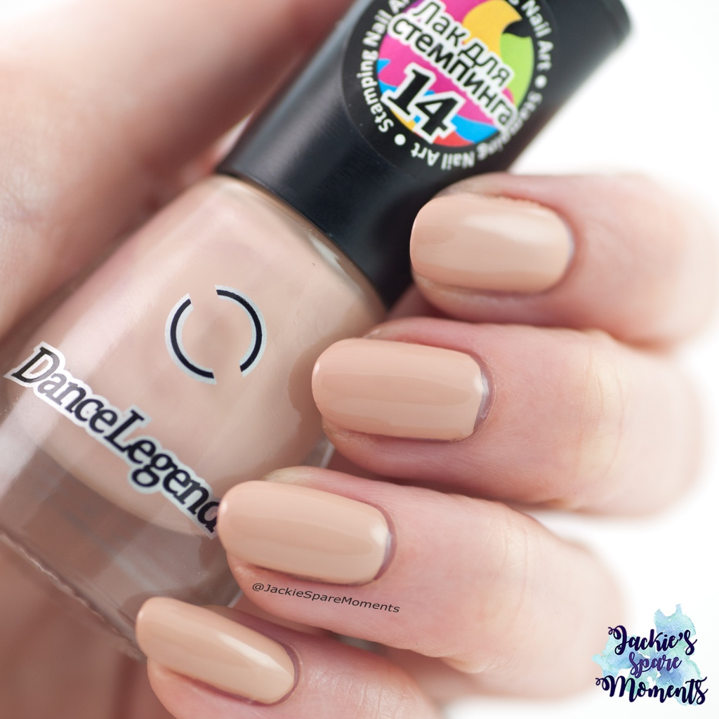 DanceLegend Stamping Polish Beige as Pantone Soy Bean