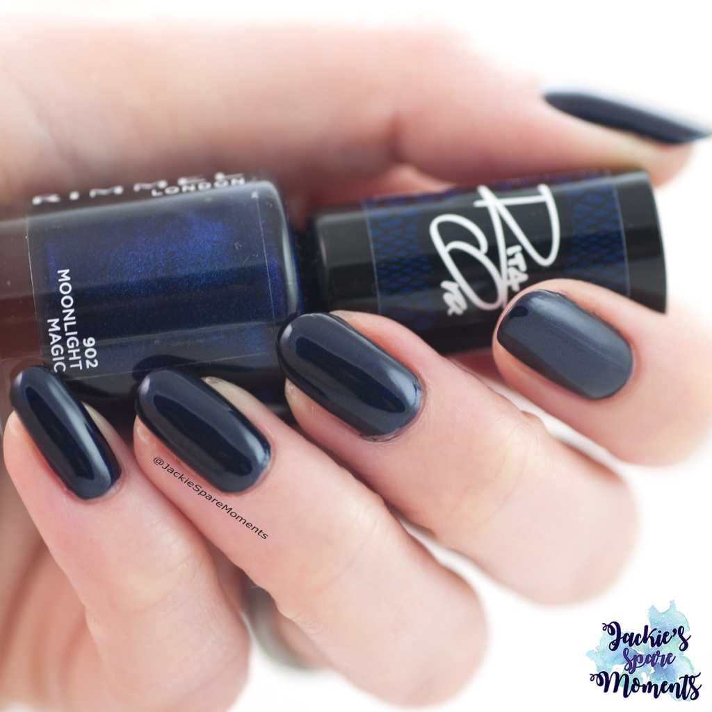 Rimmel London 902 Moonlight Magic as Pantone Eclipse