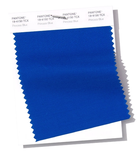 Pantone Princess Blue swatch