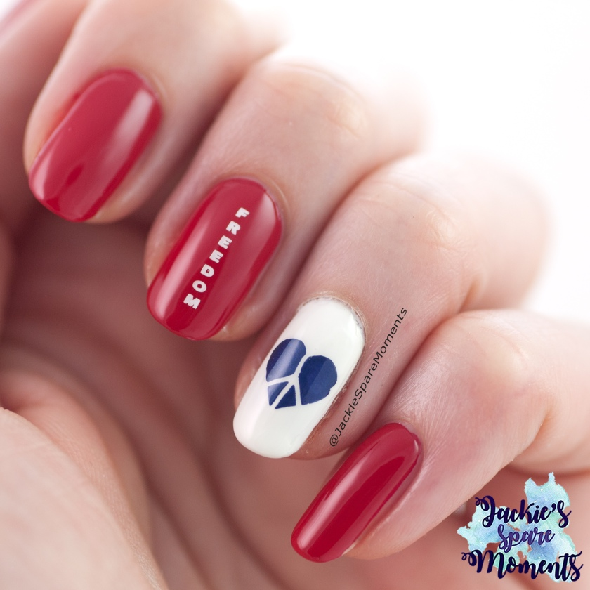 Bevrijdingsdag nail art