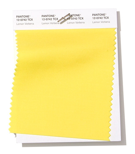 Pantone Swatch Lemon Verbena