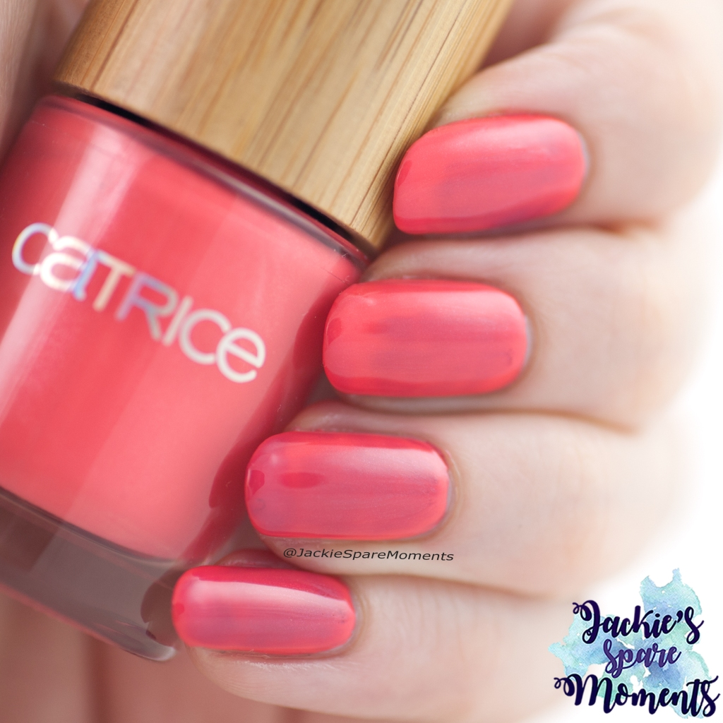 Catrice Pure Simplicity LE Nail Colour C03 Coral Crush