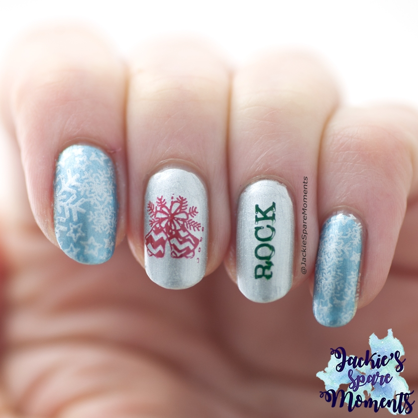 Christmas mani Jingle Bell Rock