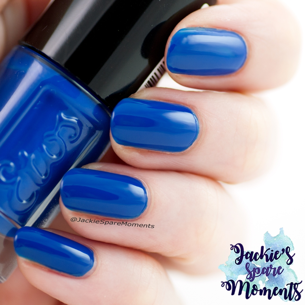 Pantone Color of the Year Classic Blue; Etos nail polish 44 Marrakech