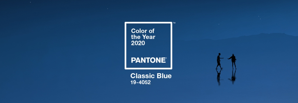 Pantone color of the year 2020 Classic Blue, picture courtesy of Pantone Institute