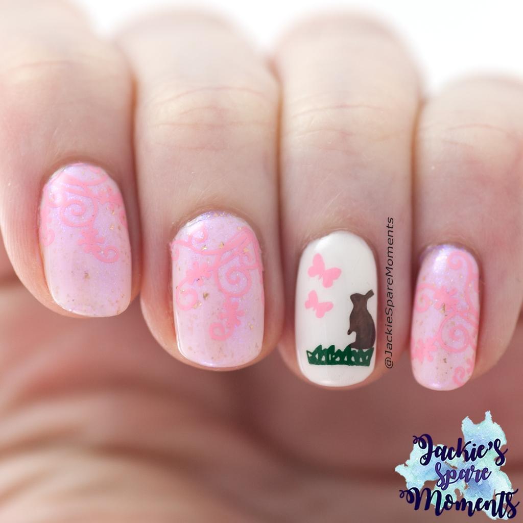 Easter nail art