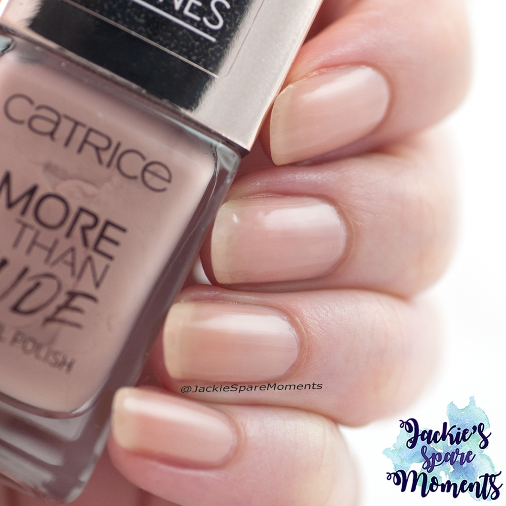 Nail polish swatch Catrice More Than Nude nail polish 07 Nudie Beautie