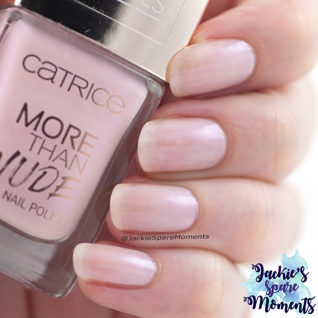 Nail polish swatch Catrice More Than Nude nail polish 08 Shine Pink Like A ...