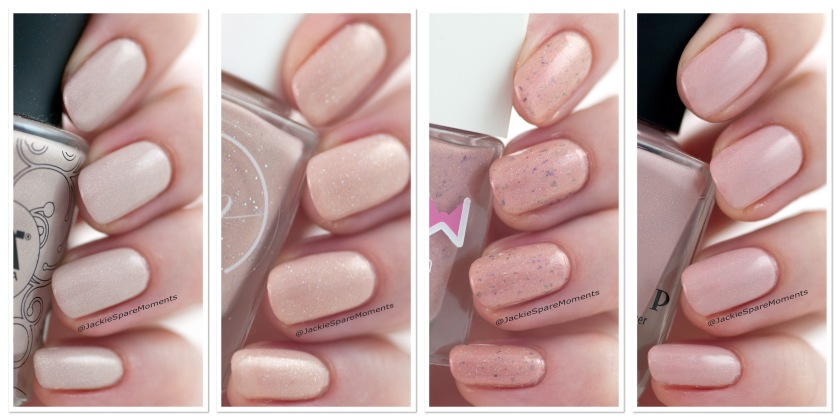 Header four new nude indie polishes