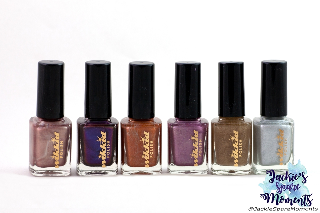 Wikkid polish Philosopher's Stone (magnetic), Ophelia, Tangerine, Amnesia Rose, Gold Dust, Snow White (H)
