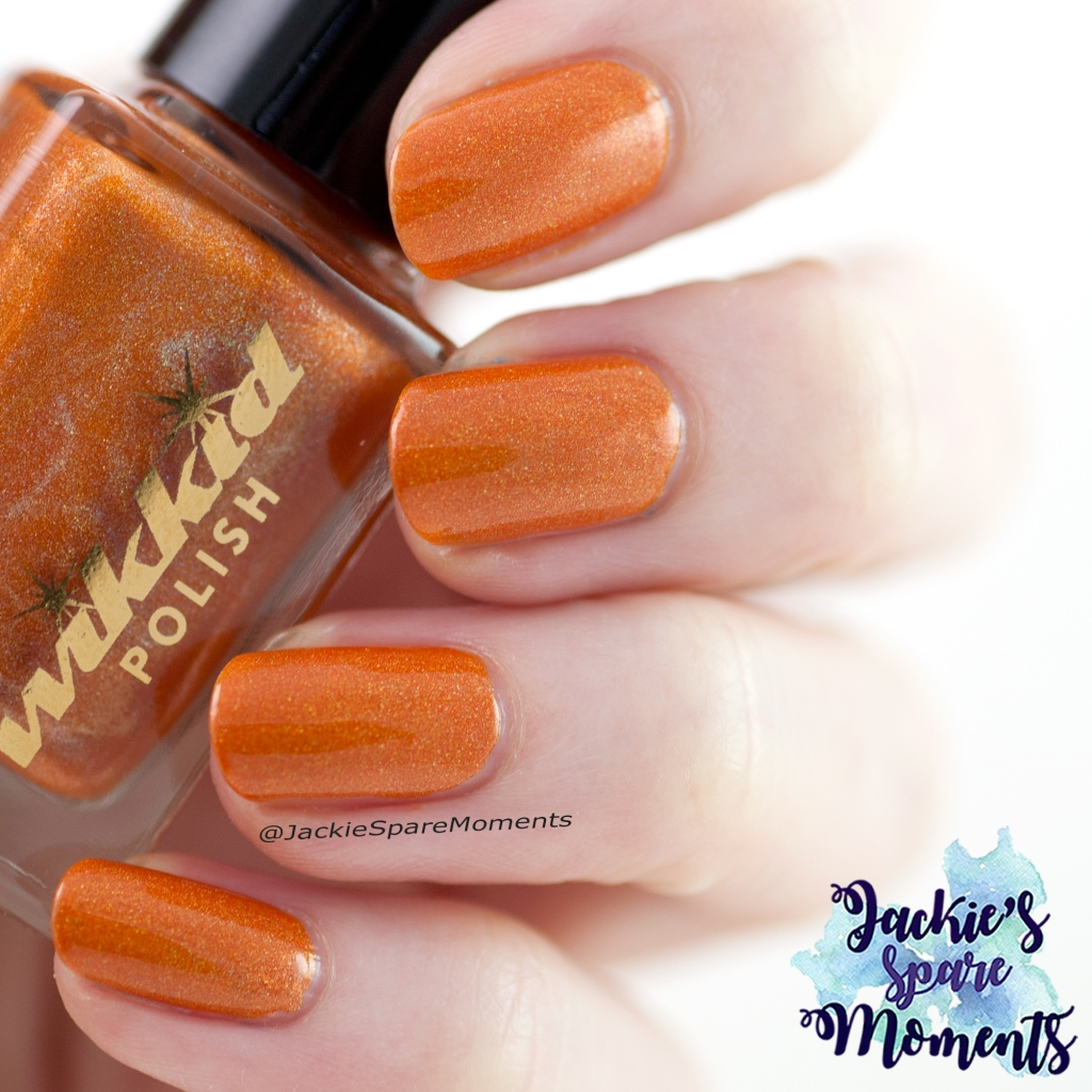 Wikkid polish Tangerine (indirect light)