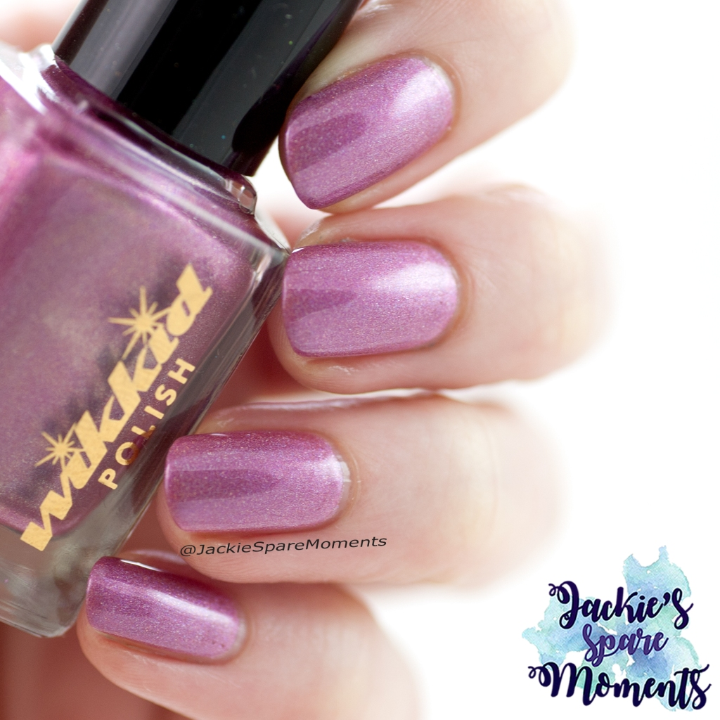 Wikkid polish Amnesia Rose (indirect light)